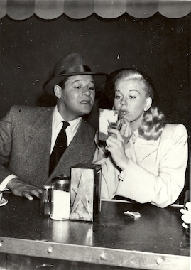 Doris and co-star Jack Carson in
