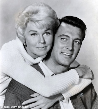 Doris Day and Rock Hudson, the most popular romantic comedy team of all time