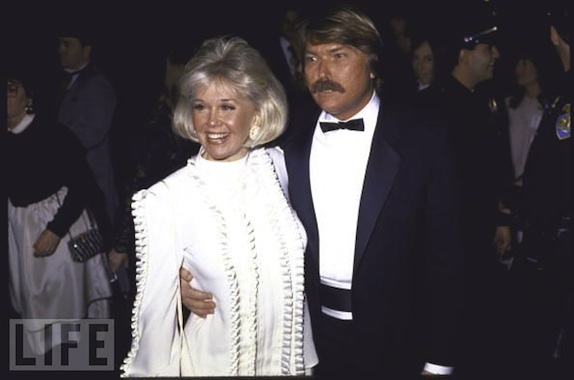 Doris and Terry when she received the Golden Globe Cecil B. DeMille award in 1989.