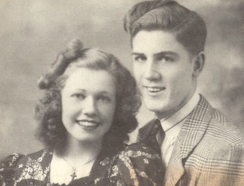 Doris Mary Ann and brother Paul Kappelhoff.